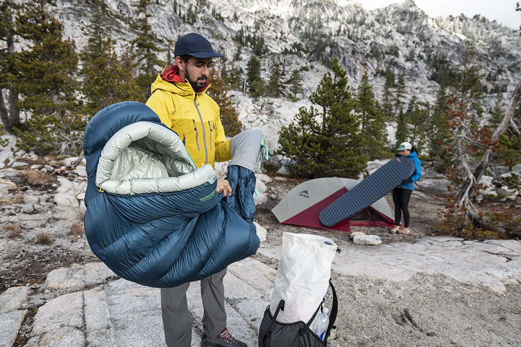 thru hike backpacking gear