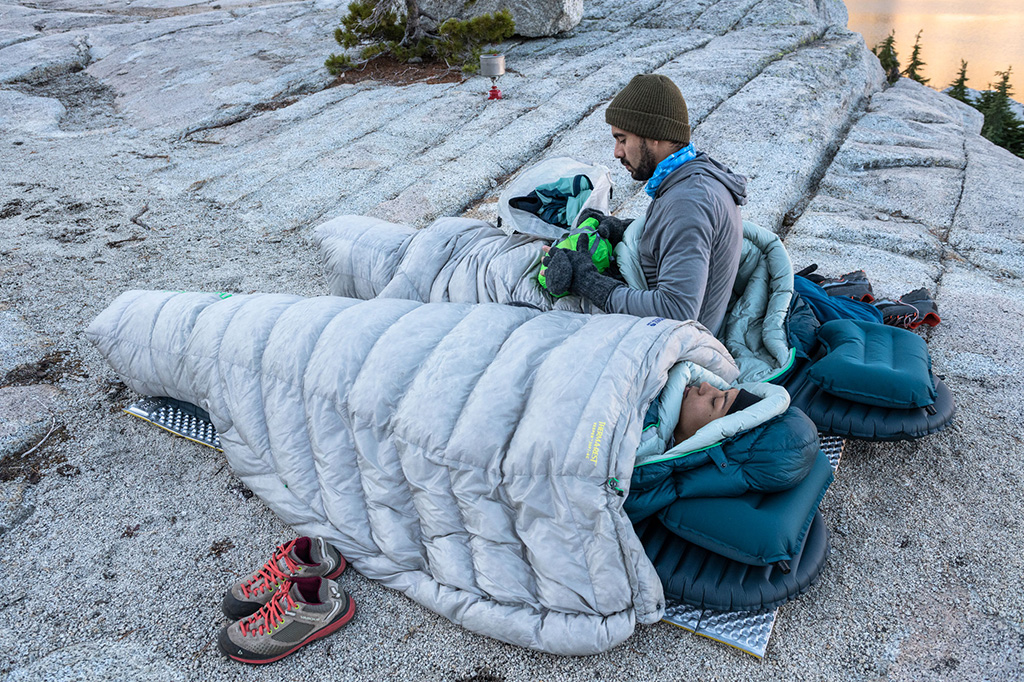 Science of Layering: The Best Camping Sleep System | Therm ...