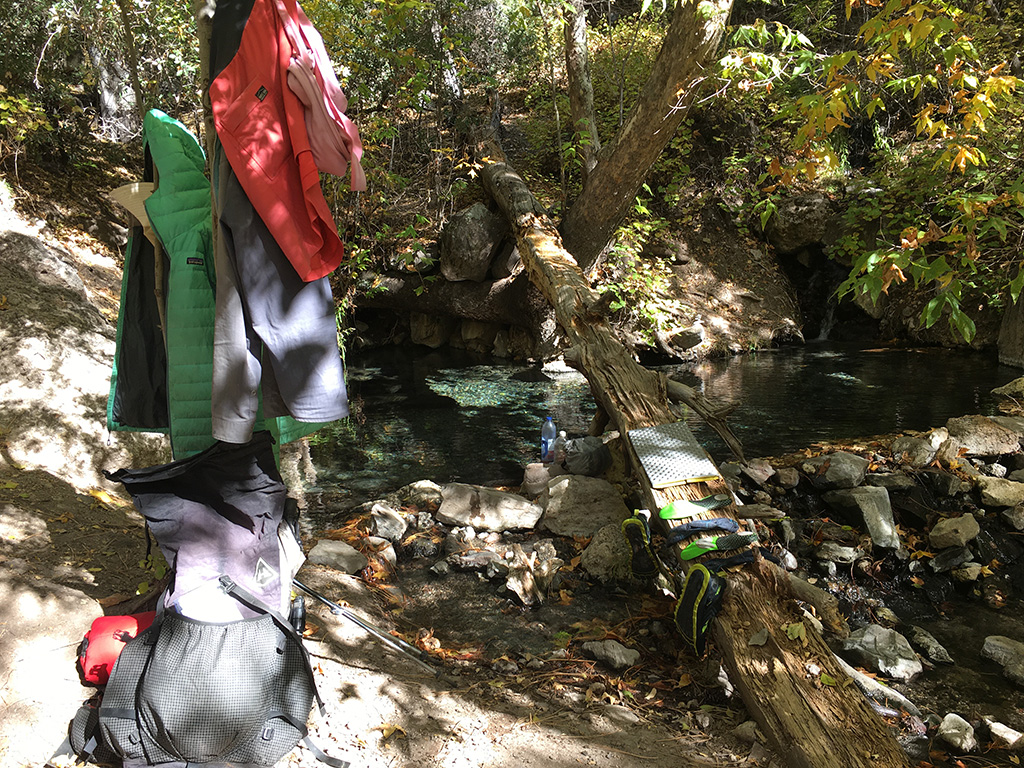 Drying Gear in the backcountry