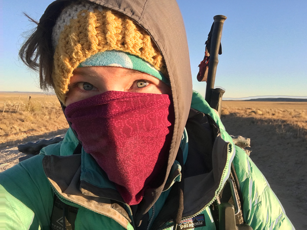 layer clothing in backcountry