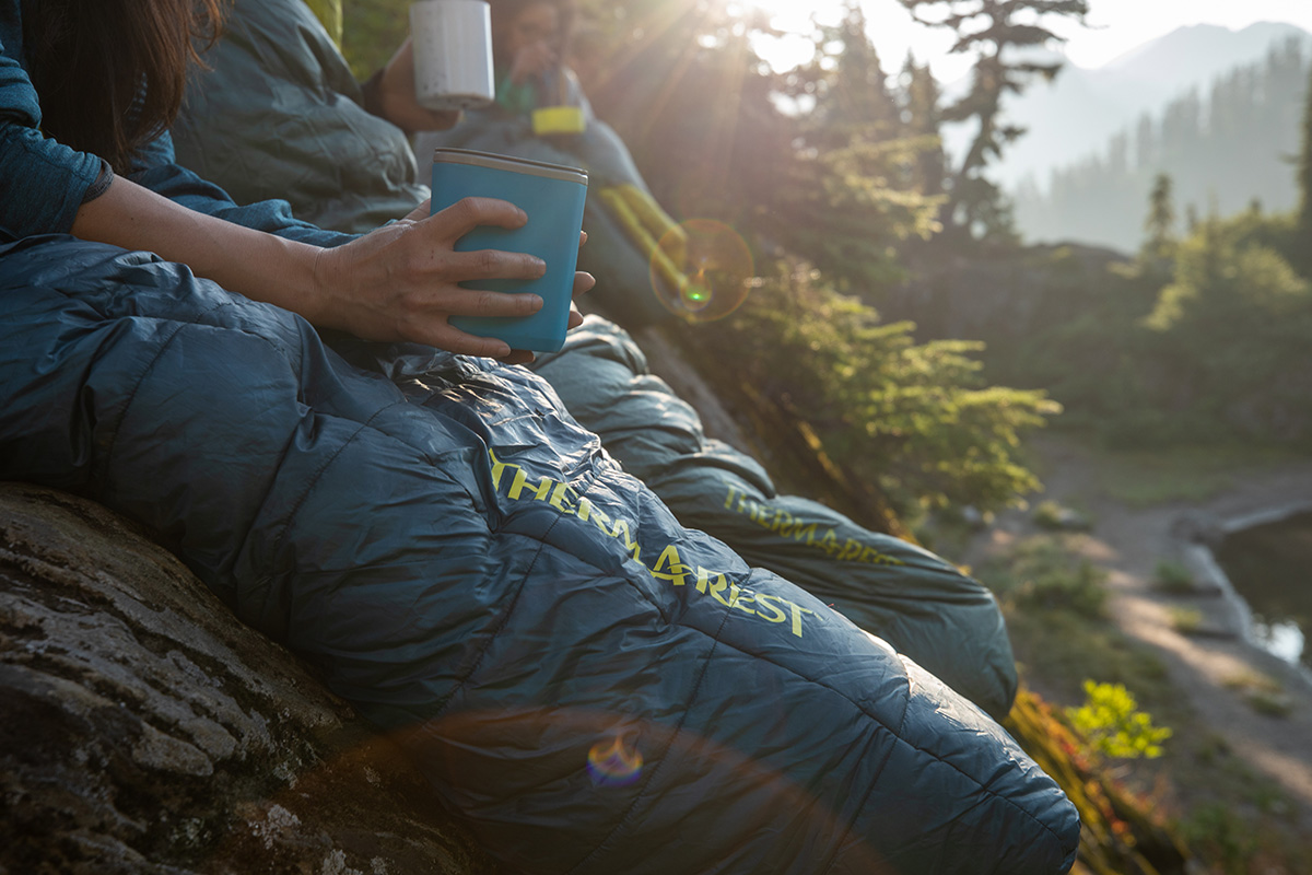saros synthetic sleeping bag