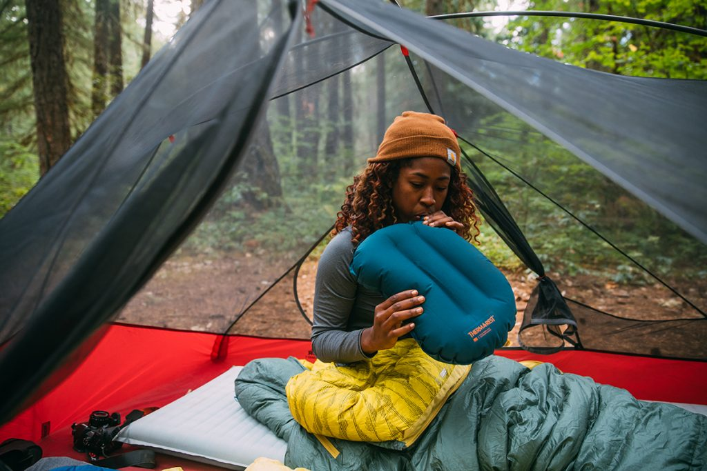 air pillow for camping