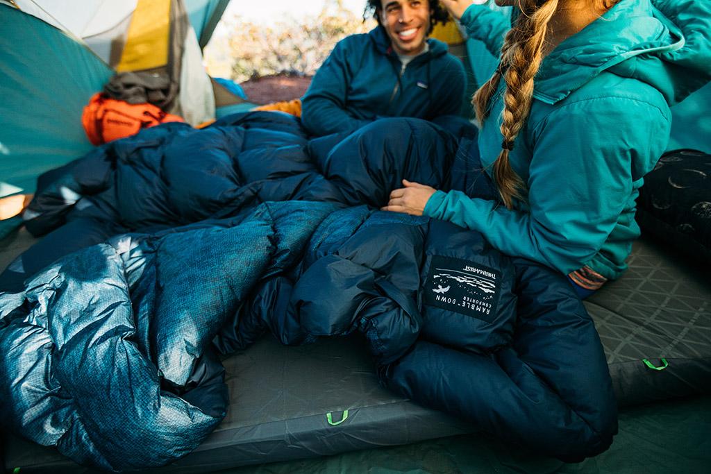 ramble down camping blanket