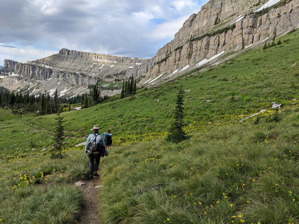 backpacking trail