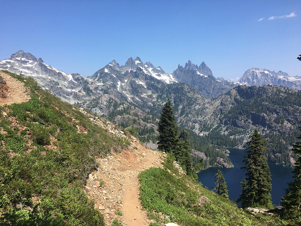 cascade mountains trail