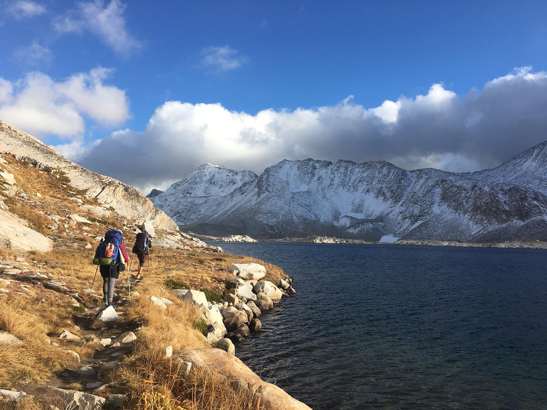 section hiking john muir