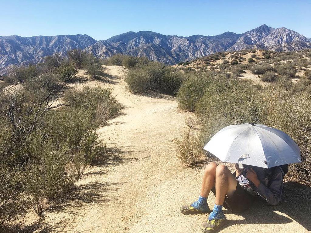 section hiking mojave desert