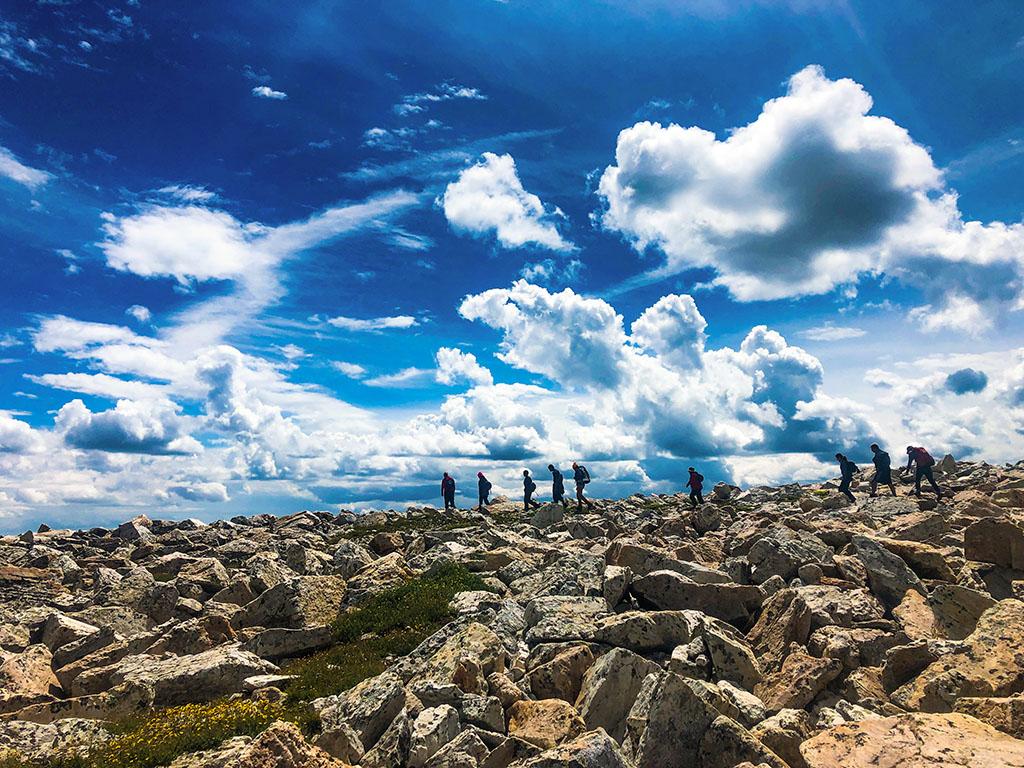 Big City Mountaineers on hiking trip