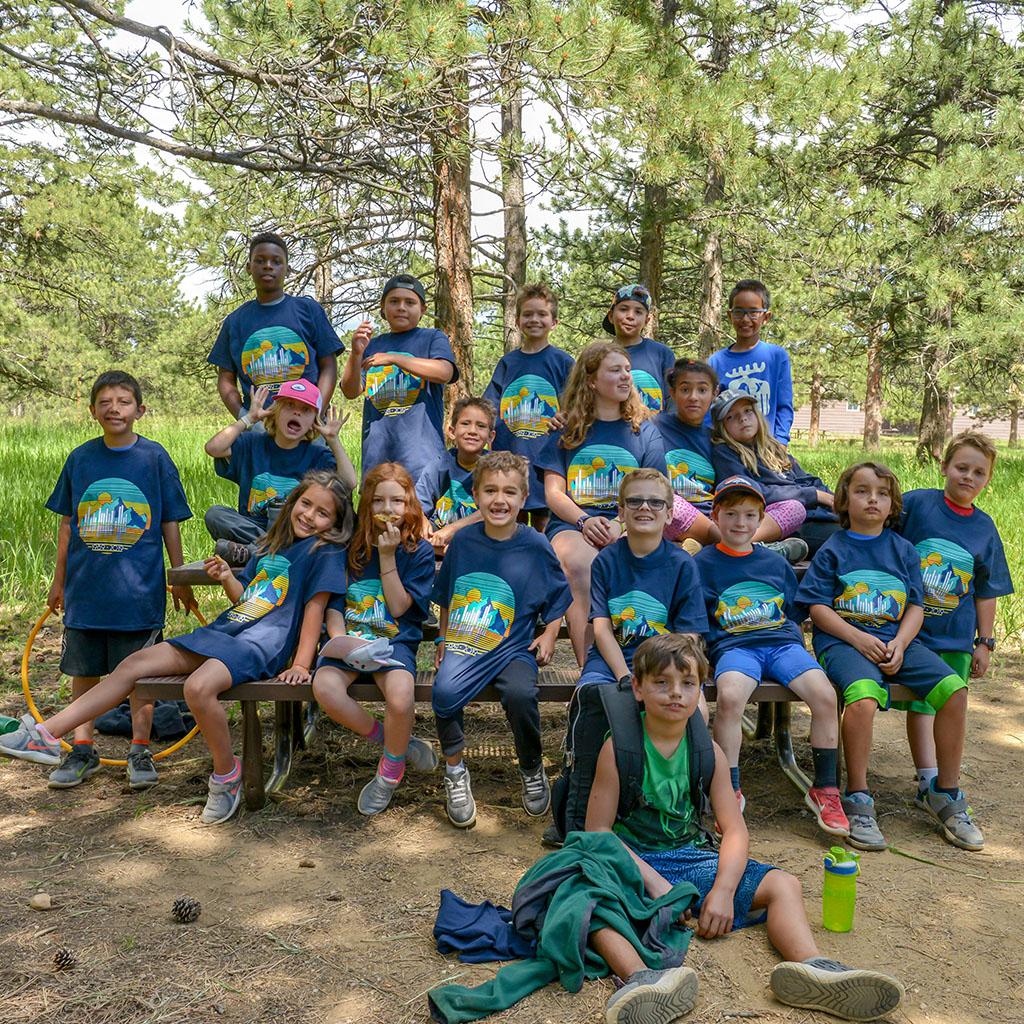 Big City Mountaineers group of kids