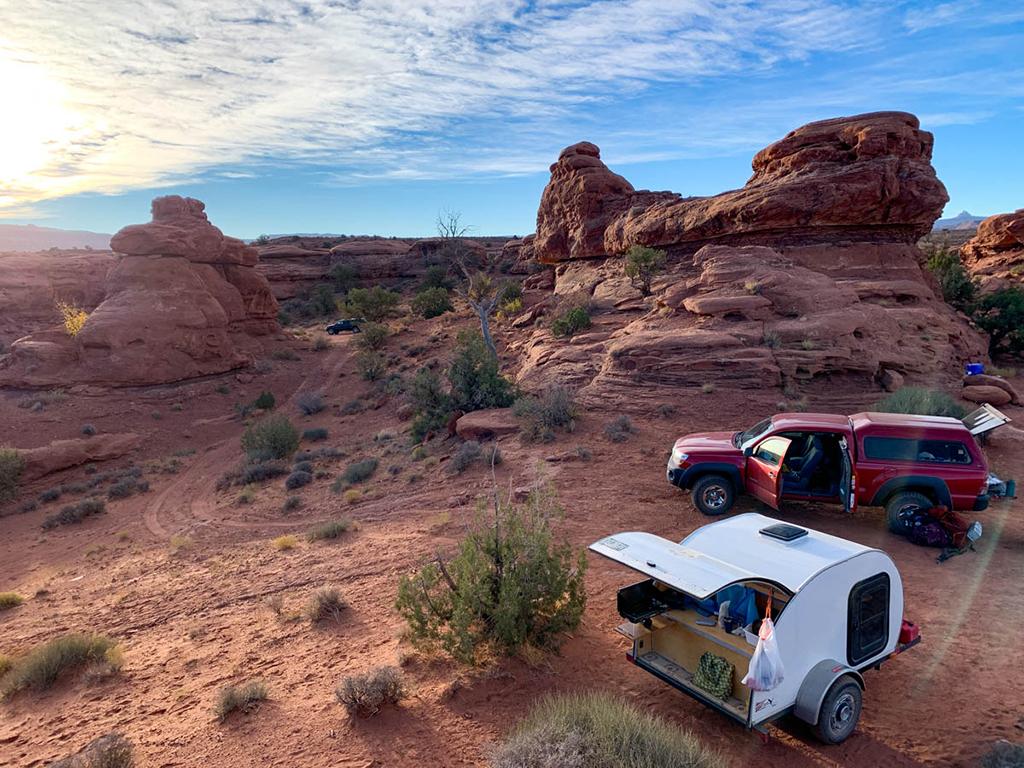 southern utah camping trip