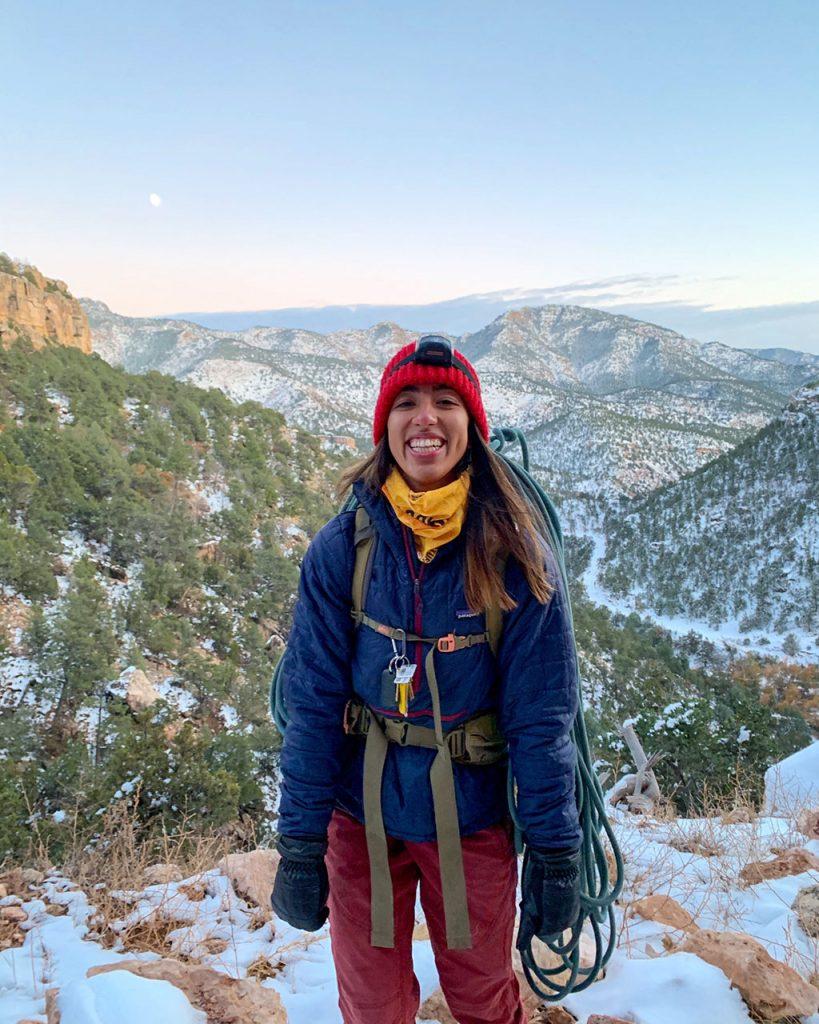 Erika Moncada - Therm-A-Rest Winter Dream Team