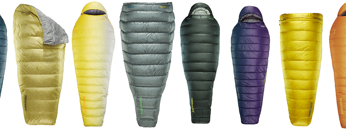 thermarest lineup sleeping bags and quilts 1200