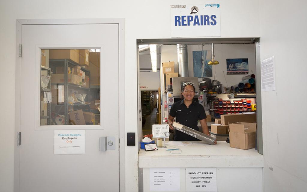 Sleeping Pad Repair Shop