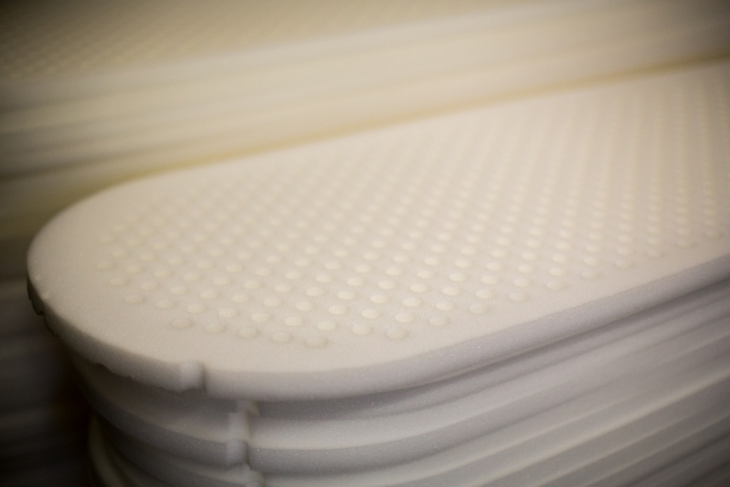 foam cut sleeping pad