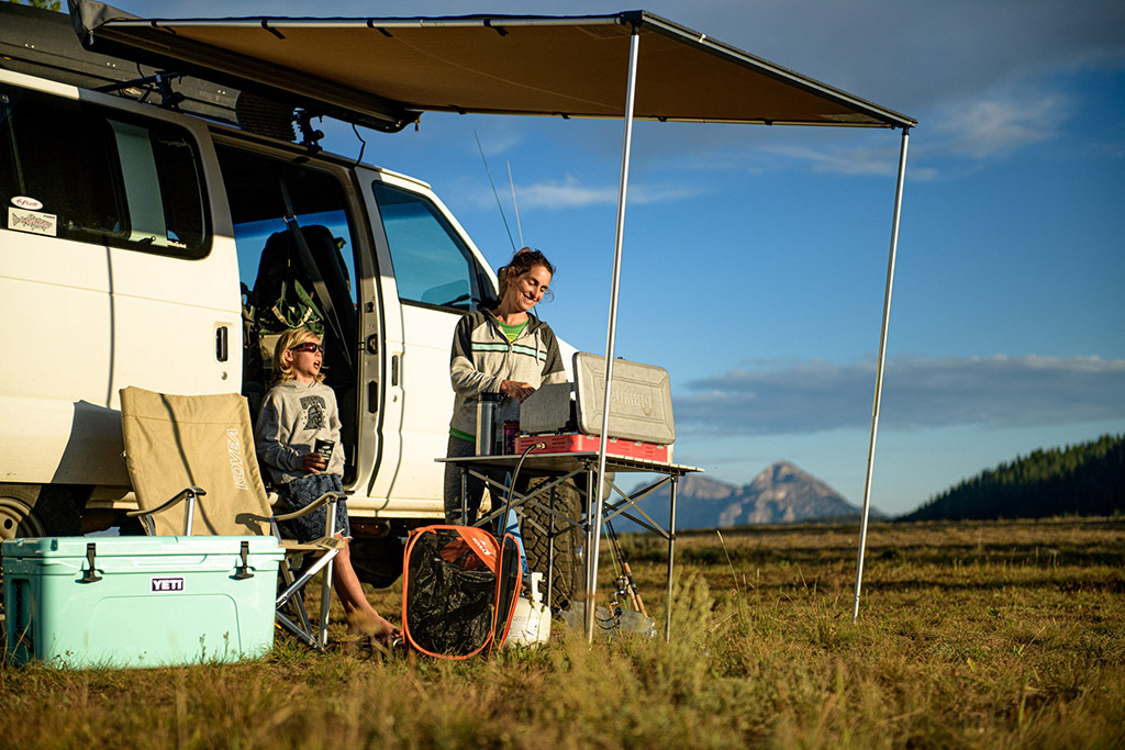 dispersed family camping