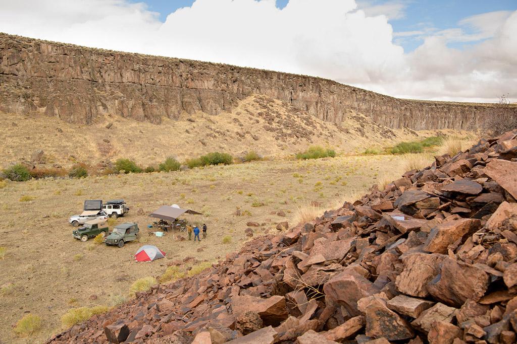 dispersed camping in Eastern Oregon