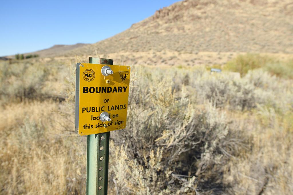 public lands boundary