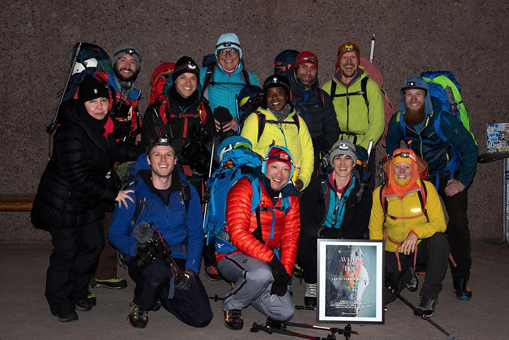 mountaineering crew