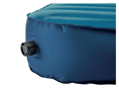 Therm-a-Rest MondoKing Marine Blue valve closed