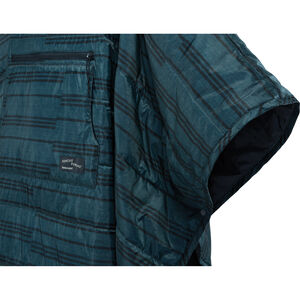 Honcho Poncho™ - Snaps Detail - Blue Print