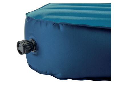 Therm-a-Rest MondoKing Marine Blue valve open
