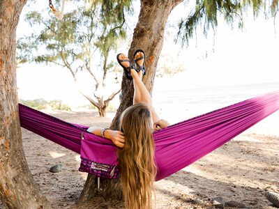 Slacker™ Single Hammock, , large