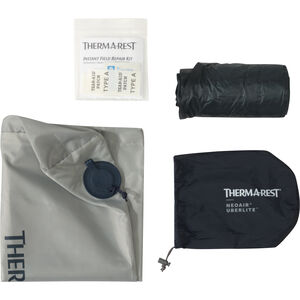 Therm-a-Rest UberLite Sleeping Pad contents