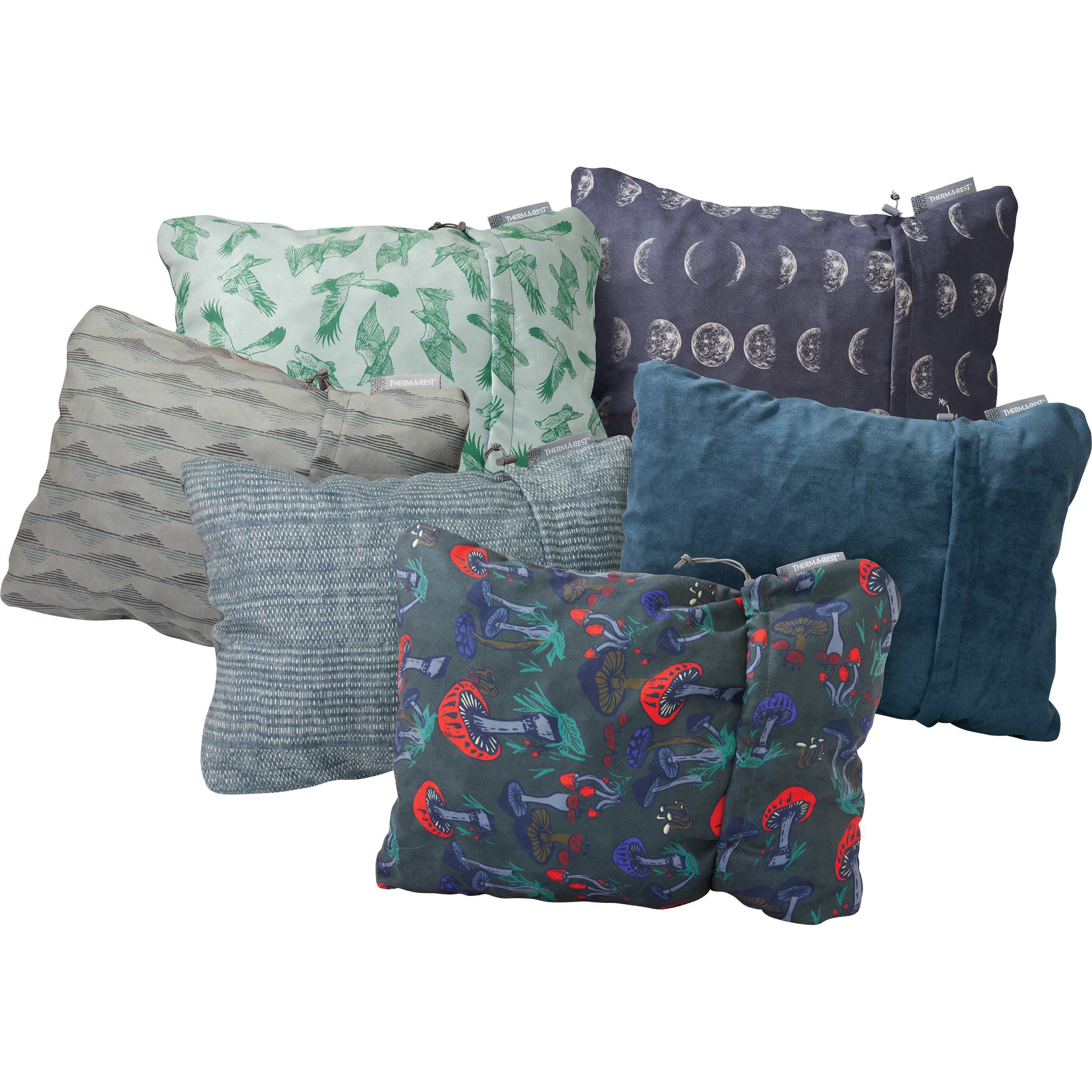 Compressible Pillow Recycled Foam Pillow Therm A Rest