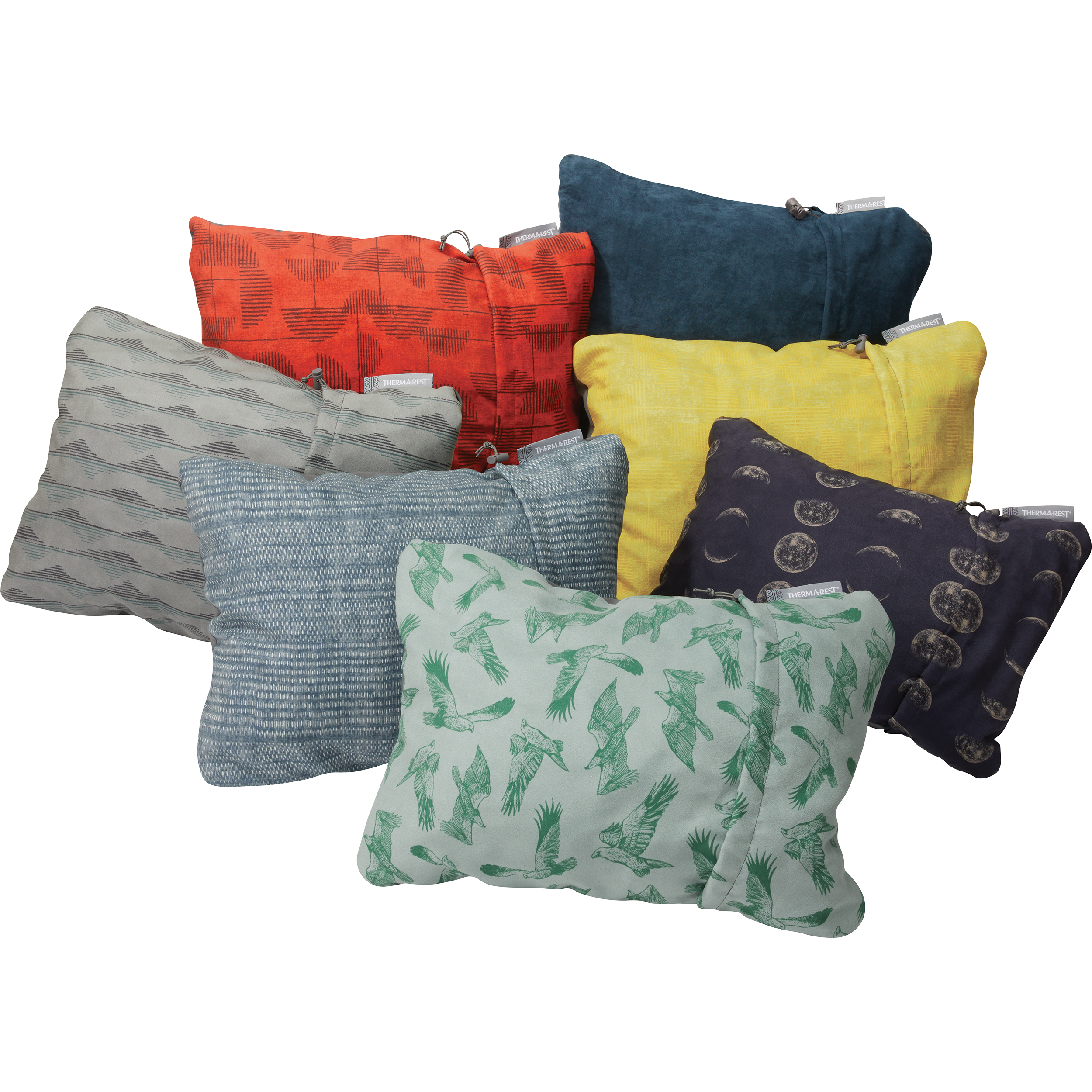 X-Large//16.5 x 27 Therm-A-Rest Compressible Pillow Cardinal